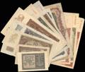 Лот из 22 денежных знаков 1940-1948 гг.
