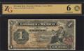 Мексика. Банк Лондона и Мехико. 1 песо 1914 г.