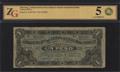 Мексика. Генеральная касса корпуса северо-западной армии. 1 песо 1915 г.