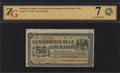Мексика. Гуаймас. Казначейство Федерации. 50 центавос 1914 г.