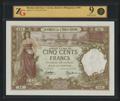 Французский берег Сомали. Джибути. 500 франков 1938 г.