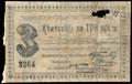 Чарджуйское общество потребителей. Квитанция 3 рубля 1918 г.