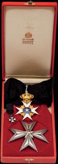 Комплект командора ордена Полярной звезды: