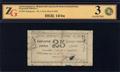 Александрополь. Ширакский городской общественный банк. 25 рублей 1920-1921 г.