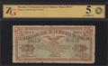 Мексика. Генеральная касса Синалоа. 10 песо 1914 г.