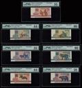 Белоруссия. Набор образцов Национальный банка. 50 коп., 1, 3, 5, 10, 25, 50 рублей 1992 г.