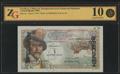 Сен-Пьер и Микелон. Центральная касса Заморской Франции. 1 новый франк 1960 г.