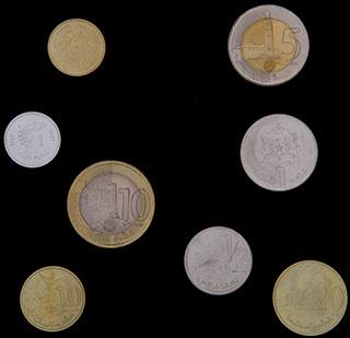 Марокко. Лот из монет 1987-2012 гг. 8 шт.