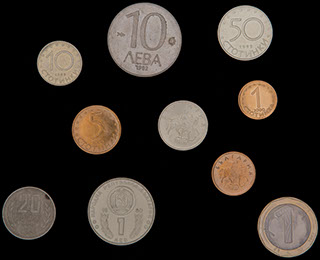 Болгария. Лот из монет 1974-2002 гг. 10 шт.