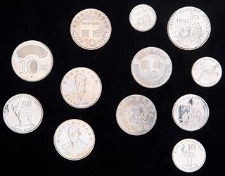 Лот из иностранных монет ХХ в. 12 шт.