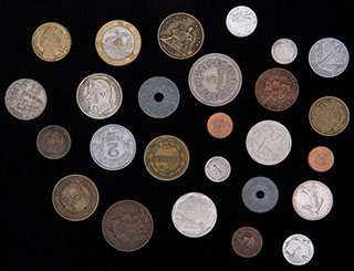Франция. Лот из монет 1850-1995 гг. 26 шт.