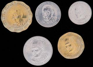 Самоа. Лот из монет 2011 г. 5 шт.