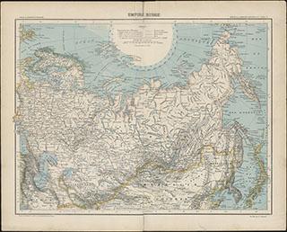 Карта Российской империи
