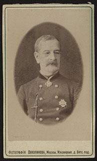 Фотография кавалера ордена Св. Анны II ст.