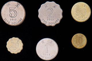 Гонг-Конг. Лот из монет 1998-2015 гг. 6 шт.