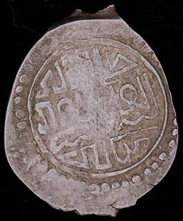 Василий II Темный. Деньга 1425-1462 гг. Серебро