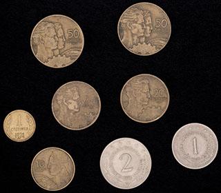 Югославия. Лот из монет 1955-1974 гг. 8 шт.