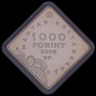 Венгрия. 1 000 флоринтов 2006 г. «Форд Т». Медно-никелевый сплав