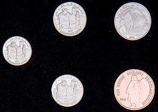 Западная Сахара. Лот из монет 2018 г. 5 шт.