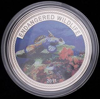 Палау. 1 доллар 2011 г. Медно-никелевый сплав