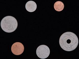 Папуа Новая Гвинея. Лот из монет 2001-2006 гг. 6 шт.