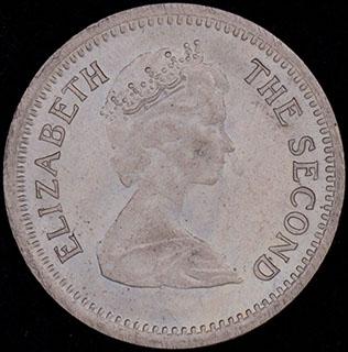 Родезия. 3 пенса 1968 г. Медно-никелевый сплав