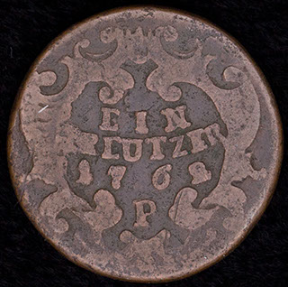 Австрия. 1 крейцер 1762 г. Медь