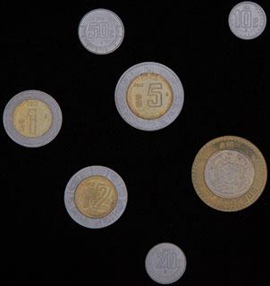 Мексика. Лот из монет 2011-2012 гг. 7 шт.