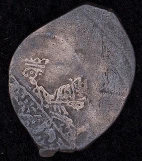 Михаил Федорович. Копейка 1613-1626 гг. Серебро