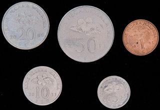Малайзия. Лот из монет 2005-2011 гг. 5 шт.