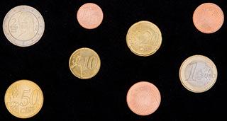 Австрия. Лот из монет 2010 г. 8 шт.