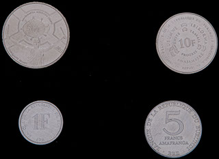 Бурунди. Лот из монет 1980-2011 гг. 4 шт.
