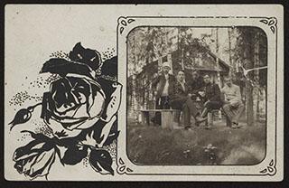 Групповая фотография. Почтовая карточка