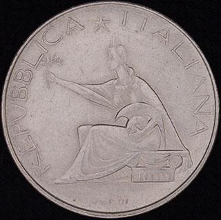 Италия. 500 лир 1961 г. «100 лет со дня объединения Италии». Серебро