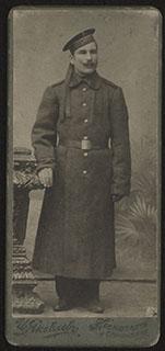 Фотография моряка с броненосца «Цесаревич»