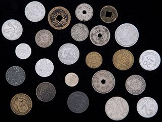 Лот из иностранных монет XIX-XX вв. 24 шт.