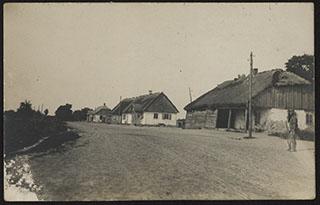 Окраина деревни. Почтовая карточка