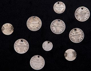 Лот из монет 1815-1915 гг. 10 шт.