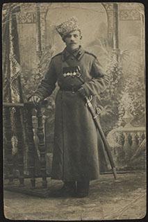 Фотография Георгиевского кавалера. Почтовая карточка