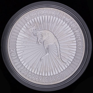 Австралия. 1 доллар 2017 г. Серебро