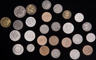 Франция. Лот из монет 1903-1998 гг. 27 шт.
