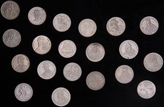 Польша. Лот из монет 1979-1991 гг. 20 шт.