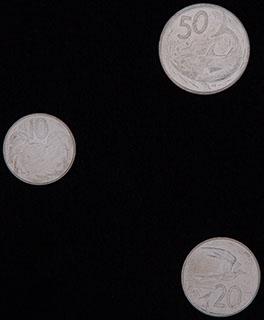 Острова Кука. Лот из монет 2015 г. 3 шт.