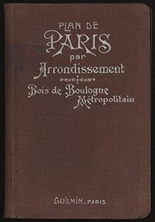 Путеводитель по Парижу. Приложение с перечнем улиц, карты отдельных районов