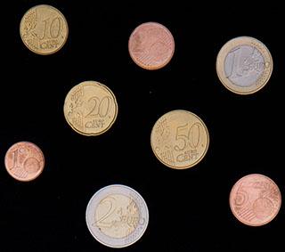 Латвия. Лот из монет 2014 г. 8 шт.