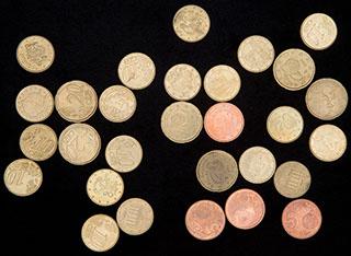 Евросоюз. Лот из монет 1999-2014 гг. 29 шт.
