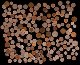 Лот из монет 1991-2007 гг. 207 шт.