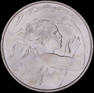 Сан-Марино. 1 000 лир 1979 г. «Европейский союз». Серебро