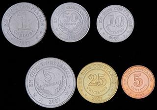 Никарагуа. Лот из монет  1997-2007 гг. 6 шт.