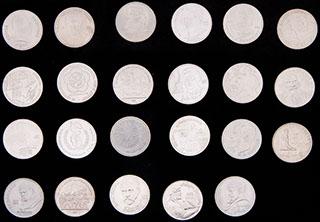 Лот из памятных рублей 1985-1991 гг. 23 шт.